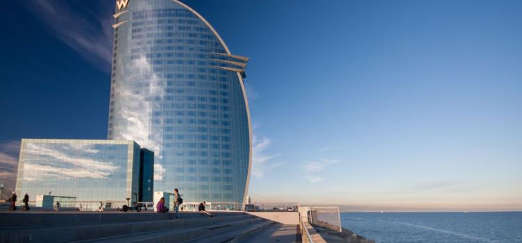 Fem glamorøse hotell i Barcelona