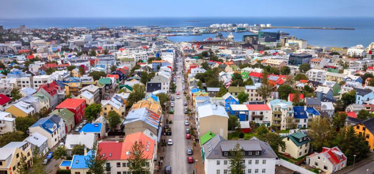 10 anbefalte hotell i Reykjavik