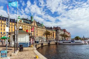 Strandvagen i stockholm
