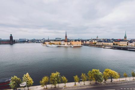 panorama over stockholm fra Monteliusvagen