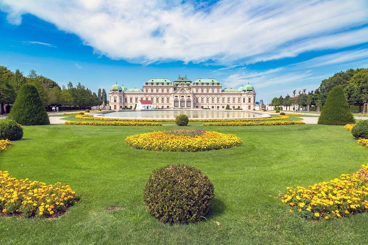 Belvedere slottet wien