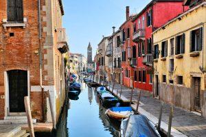 Dorsoduro distriktet i venezia