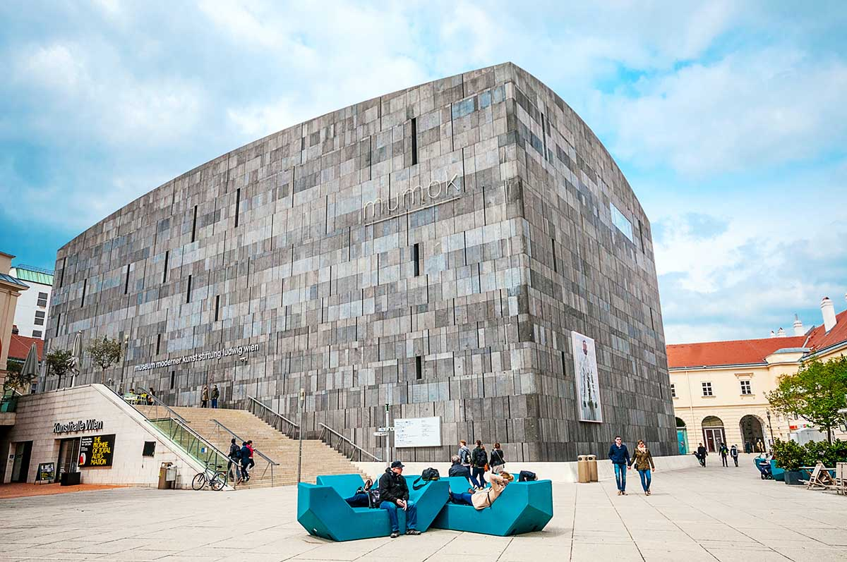 MuseumsQuartier Neubau wien