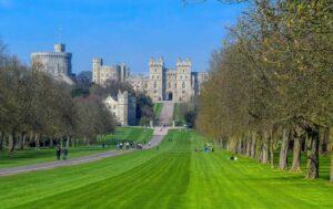 Windsor Castle utenfor london