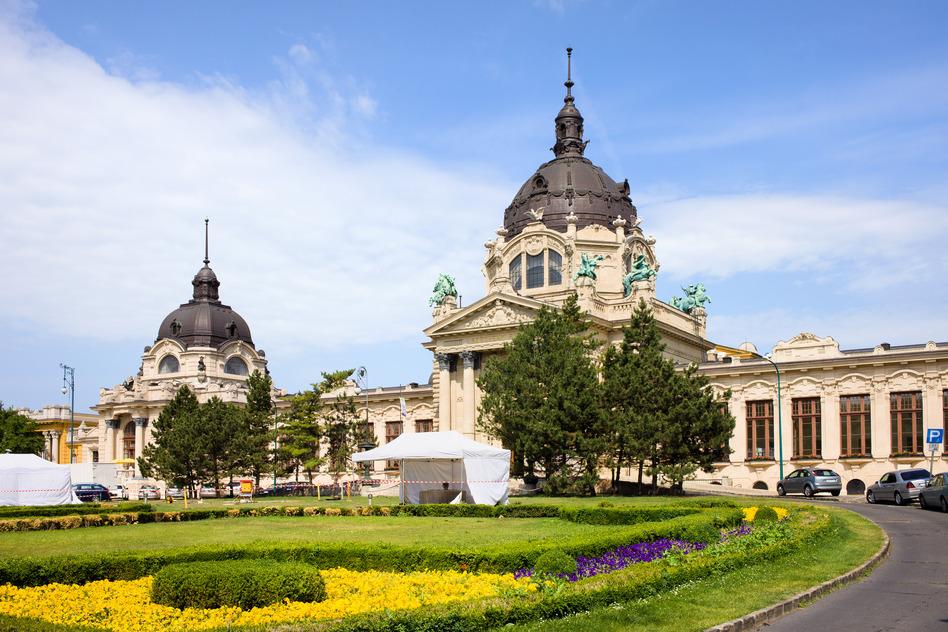 Szechenyi bad i Budapest