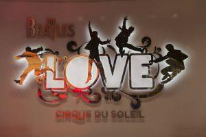 cirque du soleil show i las vegas
