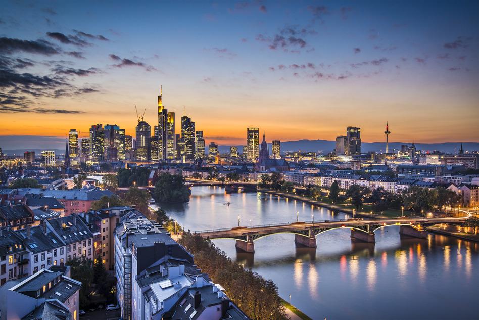 Frankfurt tyskland