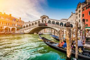 Rialtobroen i venezia
