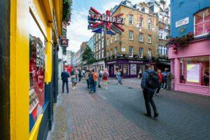 carnaby street i soho london