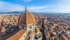 utsikt fra Cupola del Brunelleschi
