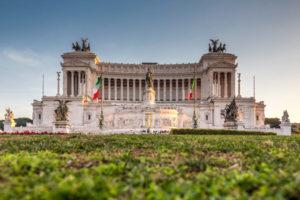 Monumento a Vittorio Emanuele II kjent severdighet i roma