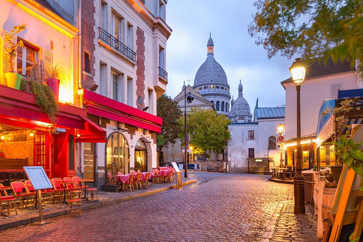 The Place du Tertre i paris