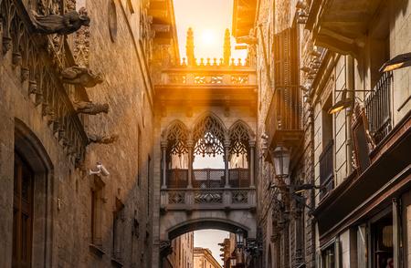 det gotiske kvarteret i barcelona
