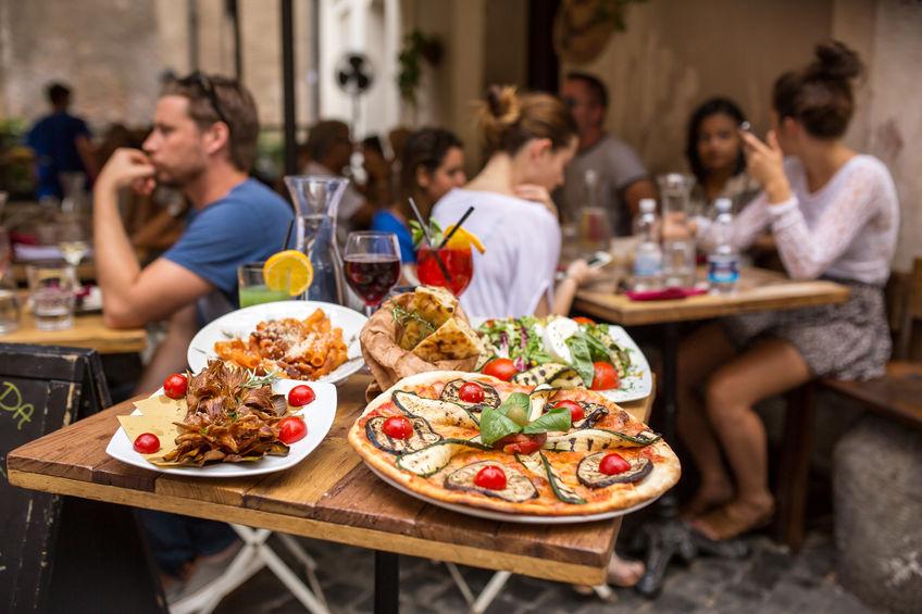 italiensk mat i roma
