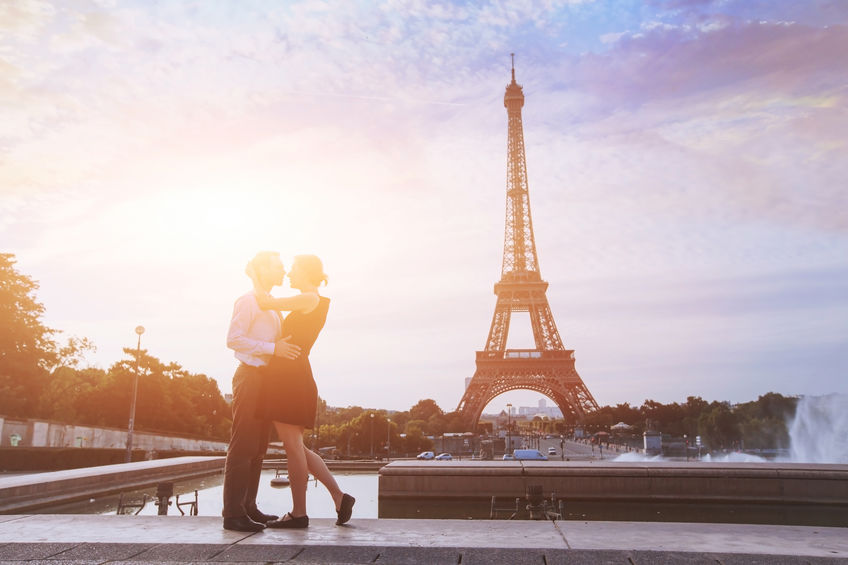 romantisk storbyferie i paris