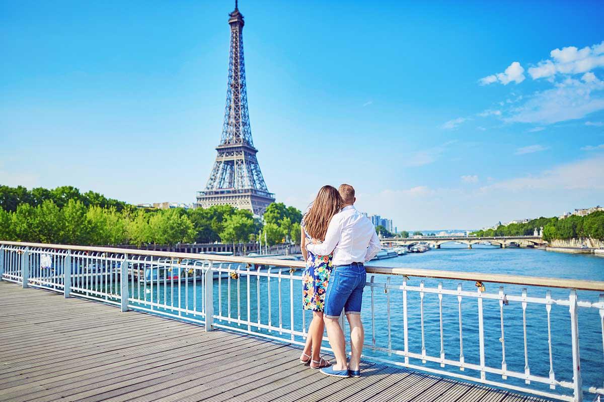 romantisk weekend i paris