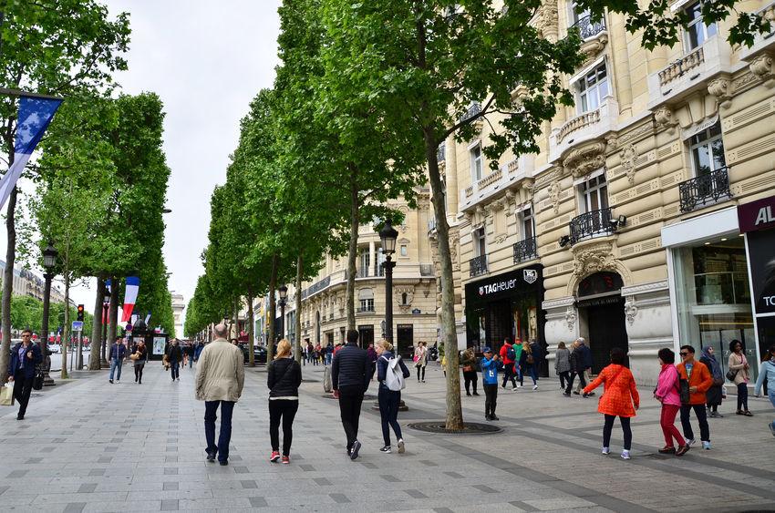 shopping i paris