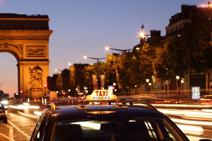 taxi i paris