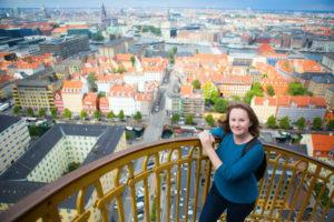 utsikt over københavn fra vor frelsers kirke