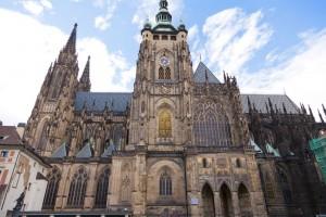 st vitus katedralen i praha