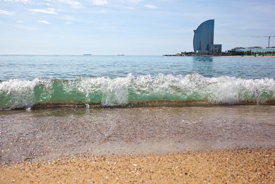 strand i barcelona