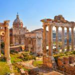 forum romanum severdigheter roma