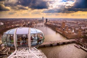 the london eye severdighet