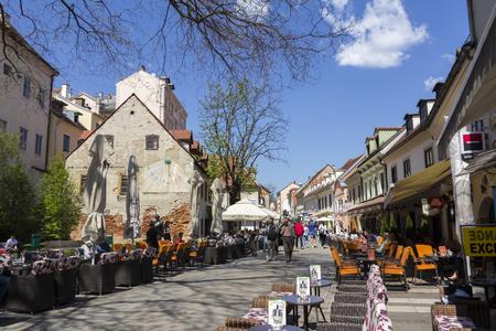 Tkalciceva street i zagreb
