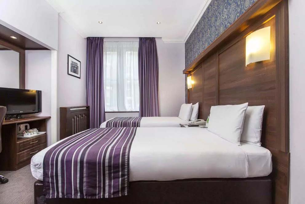 bra hotell i london