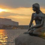 den lille havfruen statuen i københavn