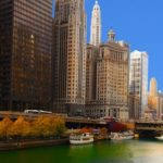chicago river severdighet i chicago