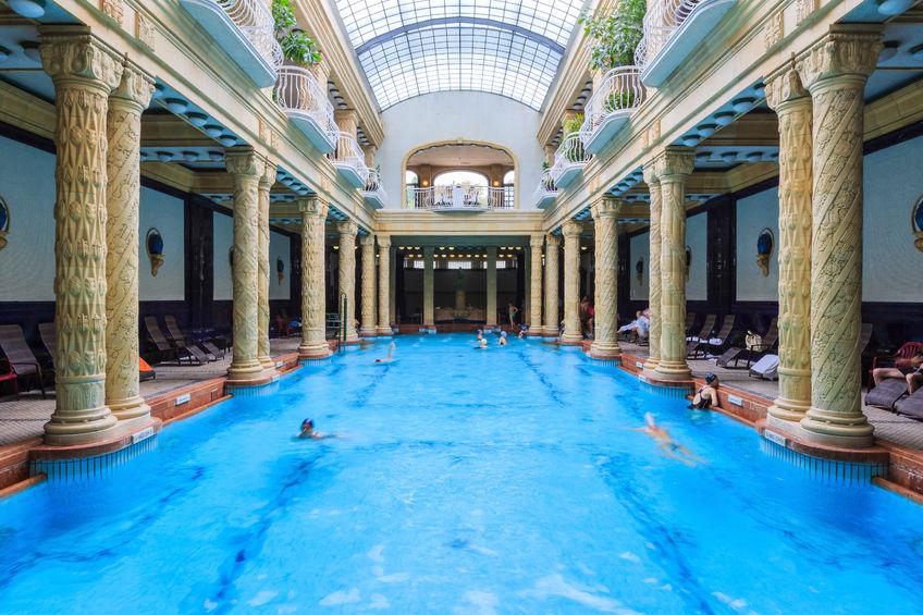 Danibus Hotel Gellert spa i budapest ungarn