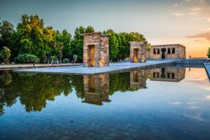 Templo de Debod i madrid