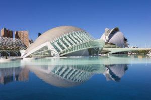 Ciudad de las Artes y las Ciencias i valencia