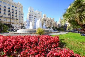 Plaza de Ayuntamiento valencia