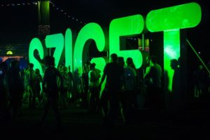 Sziget festival i Budapest