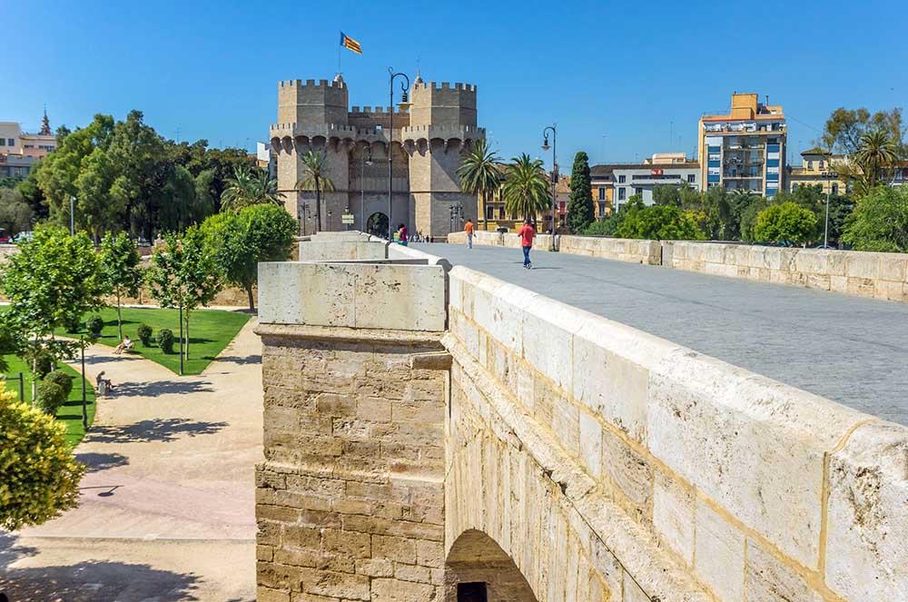 Torres de Serranos i valencia