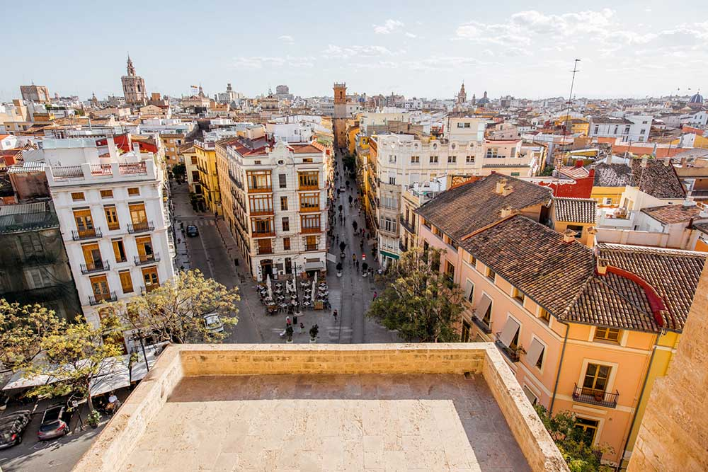 gamlebyen i valencia