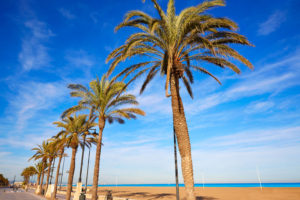 malvarrosa stranden i valencia
