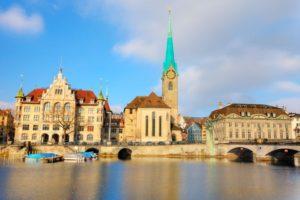 Fraumünster kirken i zurich