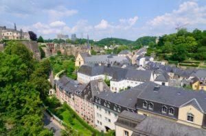 Kirchberg Distriktet i luxembourg
