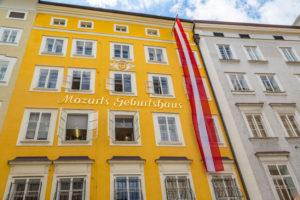 barndomshjemmet til mozart i salzburg