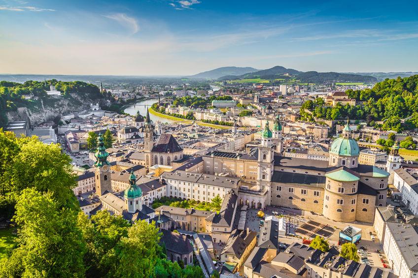 storbyferie i Salzburg