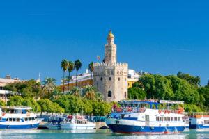 båttur Guadalquivir i sevilla