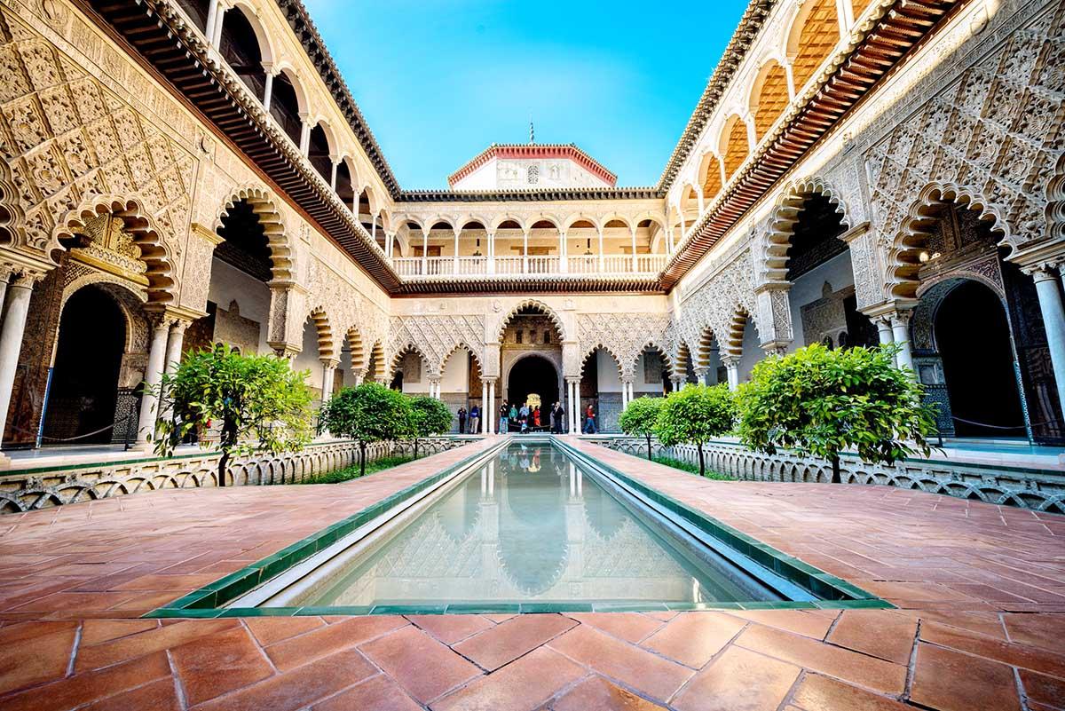 kongepalasset i sevilla