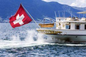 båttur på genevesjøen
