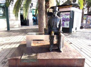 hc andersen statuen i malaga