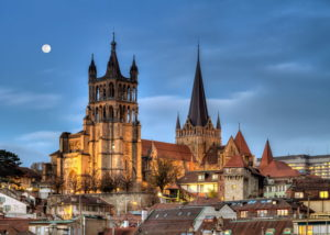 katedralen i lausanne