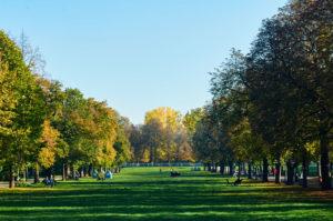 Borisova parken i sofia