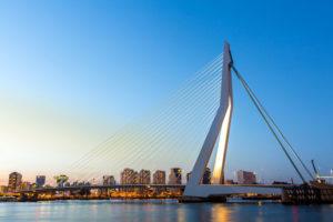 Erasmus broen i rotterdam